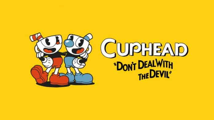 Cuphead chrome wallpaper