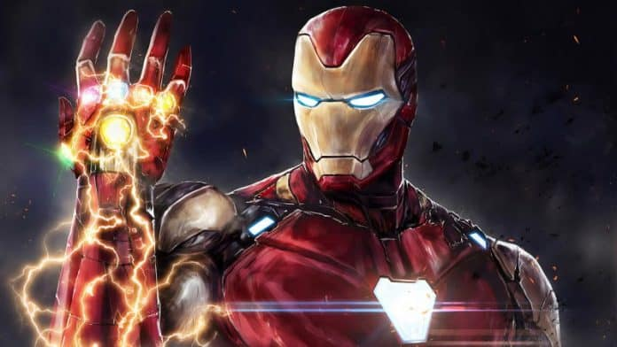 Iron Man chrome theme wallpaper